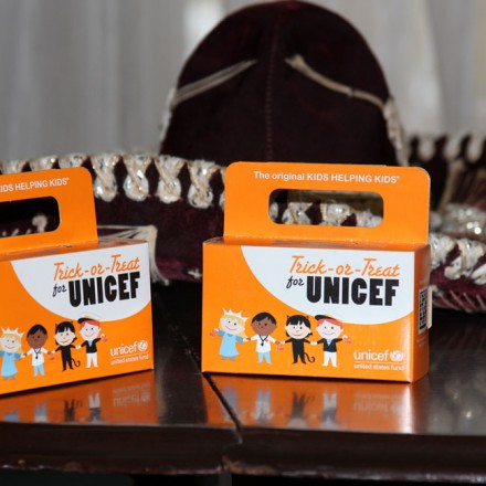 Trick or Treating for UNICEF